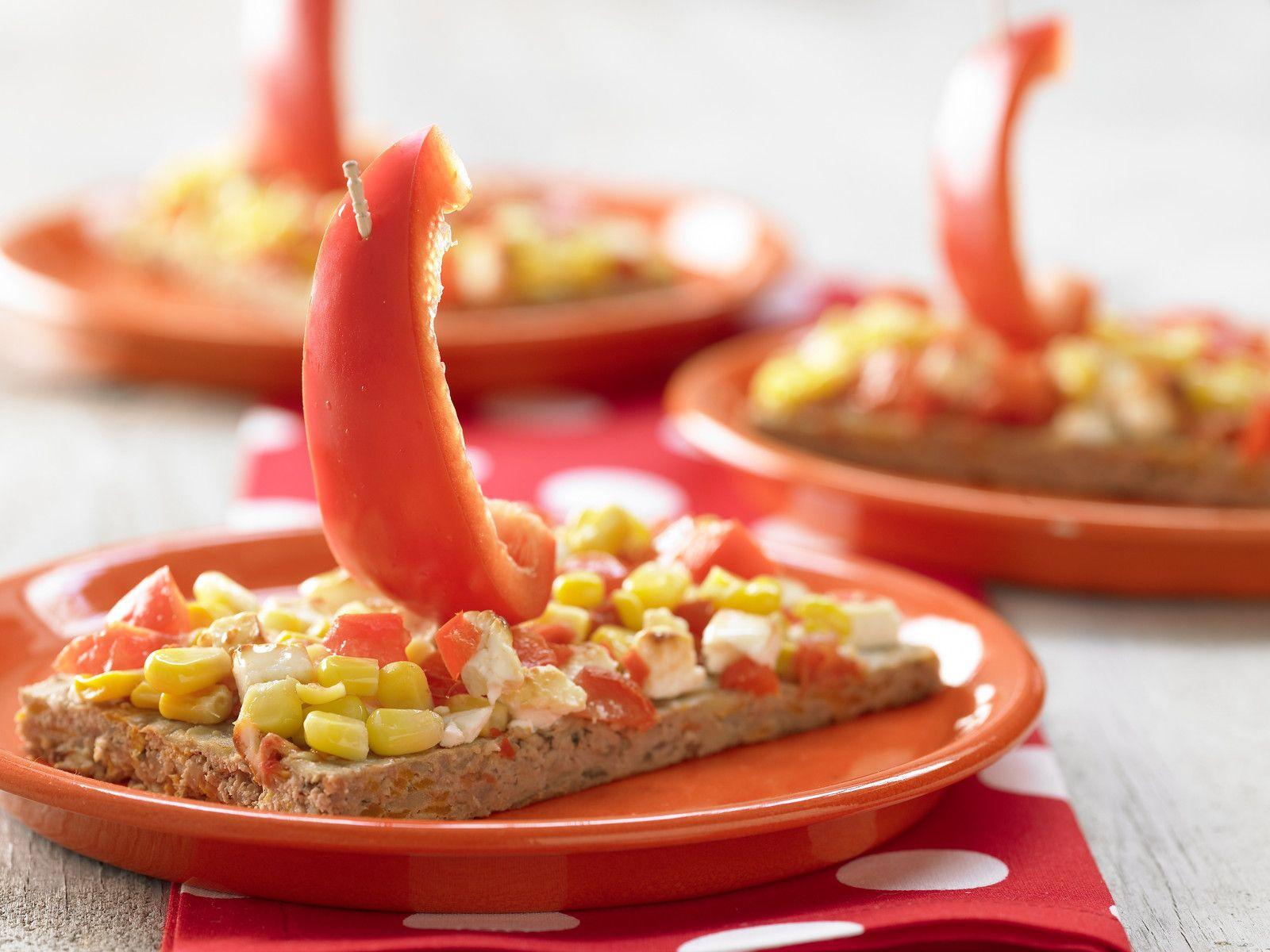 Hack-Gemüse-Boote | Kalorien: 281 Kcal - Zeit: 40 Min. | http://eatsmarter.de/rezepte/hack-gemuese-boote