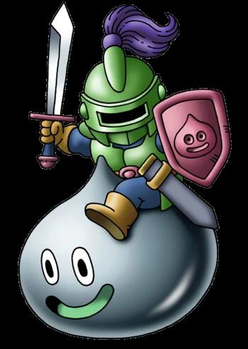 Metal Slime Knight Dragon Quest Wiki Fandom Dragon Quest 7th Dragon Knight