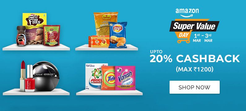 Amazon super value day offers for you shop online at best