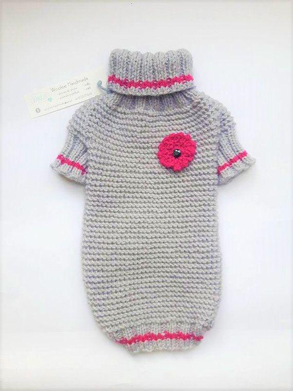 Yorkie Dog Sweaters Hand Knit Dog Sweater Knit Dog Clothing Pet ...