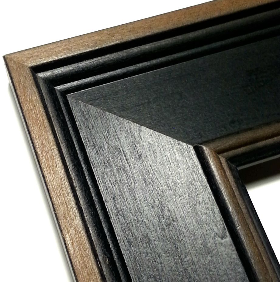 Rustic Black Picture Frame, Real Wood Photo Frame, ALL SIZES ...