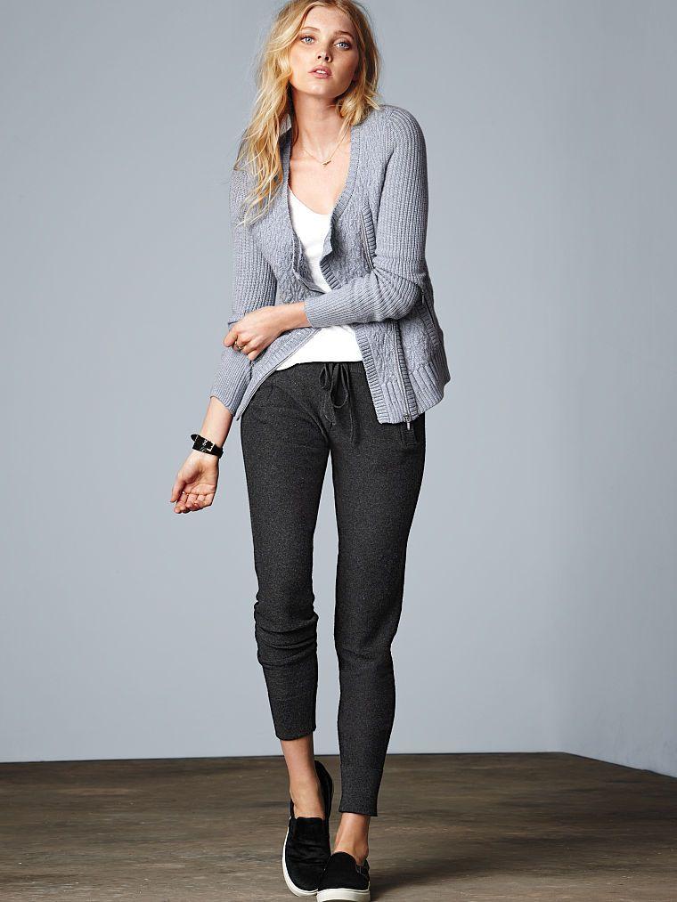 3ec5adb6c Modern Sweatpant - A Kiss of Cashmere - Victoria s Secret
