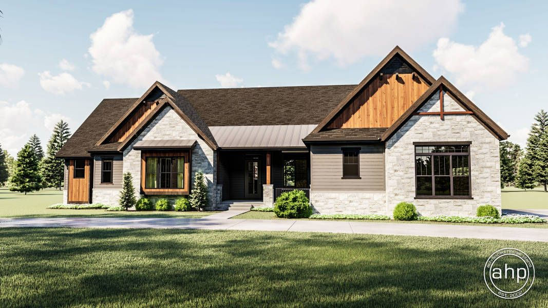 Browse Our Wide Range Of House Plans From Small To Deluxe Choose From A Variety Of Styles Inc Craftsman Style House Plans Ranch House Exterior Craftsman House