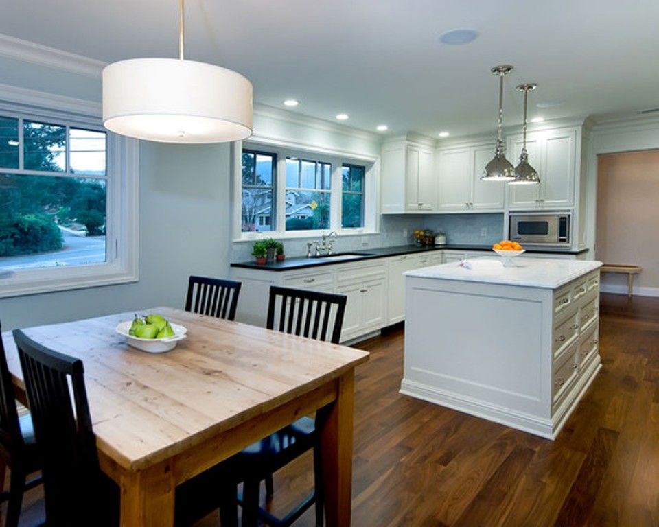 Proper Height For Lights Over A Kitchen Table Kitchen Table