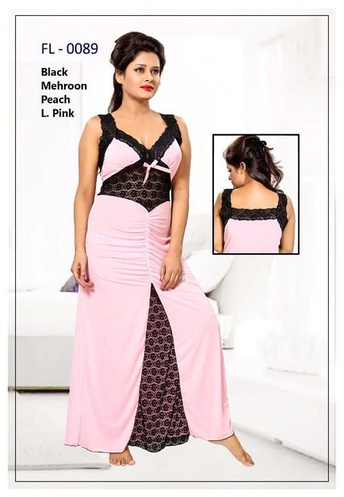 Stylish FL-0089 - Flourish Exclusive Bridal Nighty Set Collection ... 4037b4089