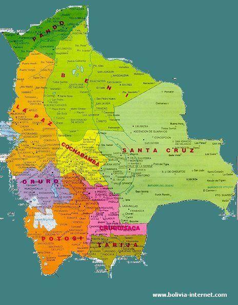 bolivia | Mapa de Bolivia | Balloonin\' N BOLIVIA | Pinterest | Bolivia