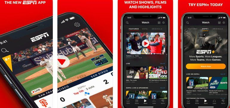 Content has been consolidated in the core ESPN app as