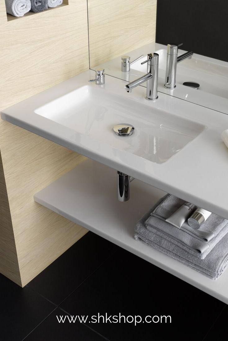 Laufen Living Square Wandhangender Waschtisch Mit Ablageflache Waschtisch Waschbecken Bad Badezimmer Design