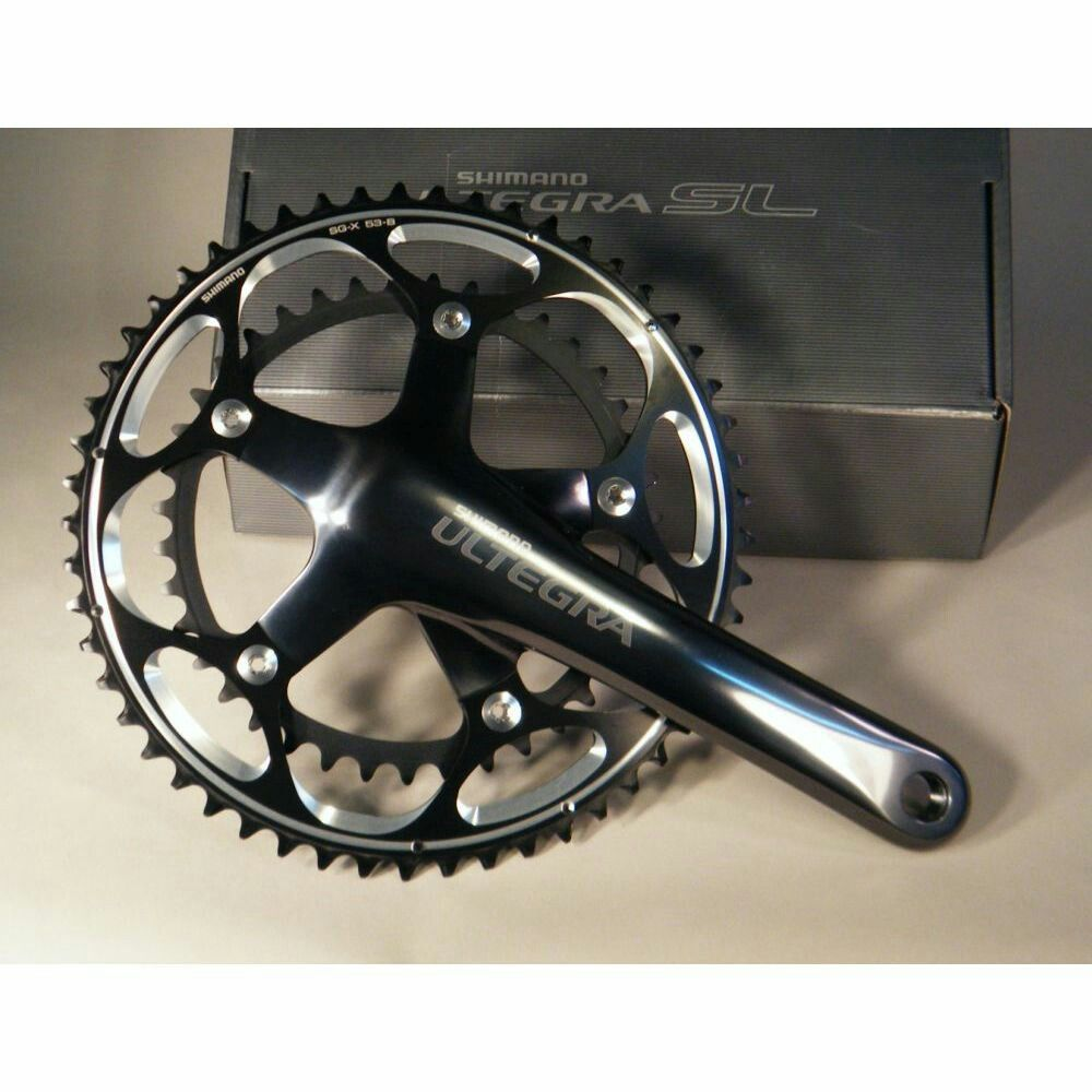 Ultegra Sl 6601 Chainset Alternative To The Silver Finish Of The