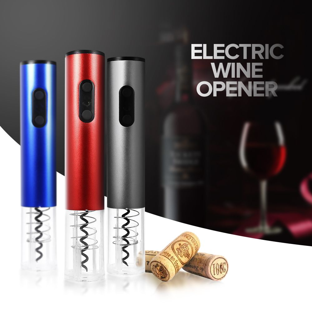 Automatic Electric Wine Bottle Opener Red wine Corkscrew Cork Cordless Cutter