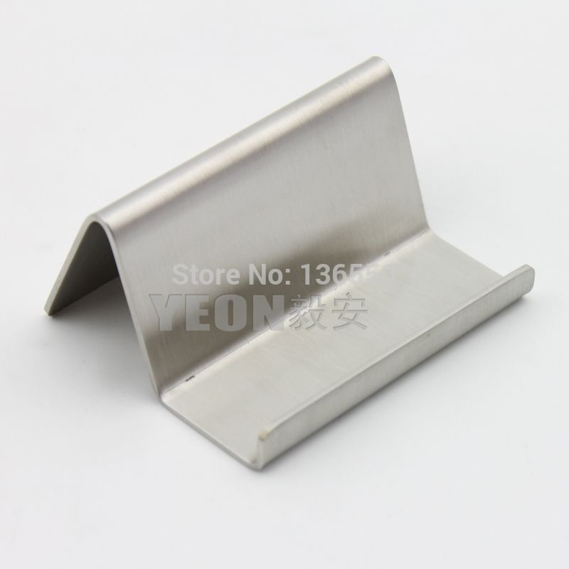 YEON Stainless steel matte tabletop business card stand namecard ...