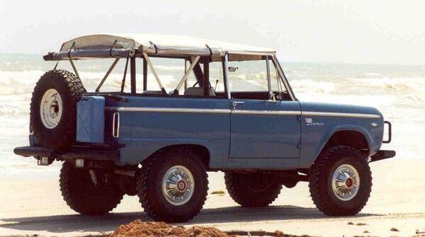 Arles Blue Bronco With Safari Top Early Bronco Bronco