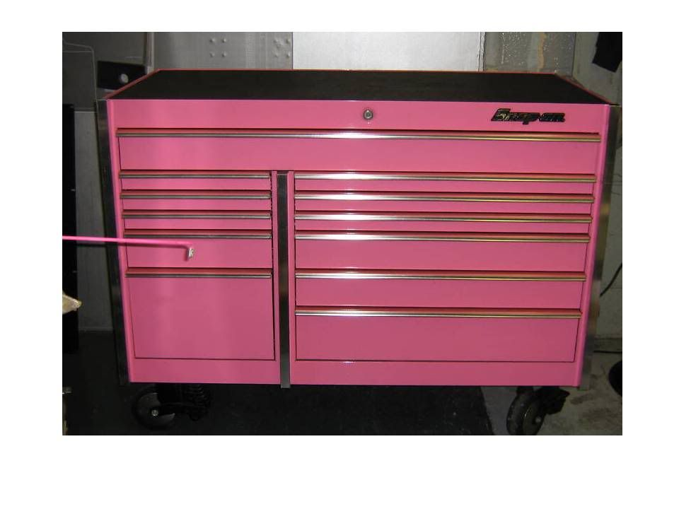 the pink snap on toolbox is back on ! - the garage journal board ...