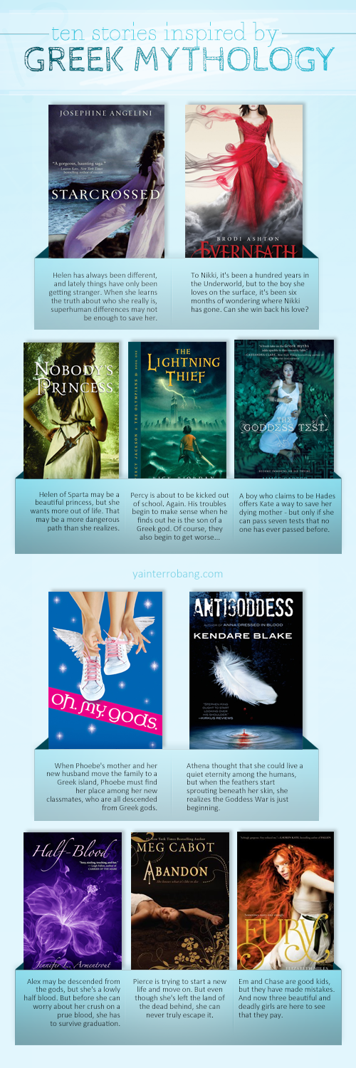 List of the Week: Ten Stories Inspired by Greek Mythology