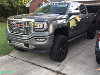 2018 Gmc Sierra 1500 Fuel Beast Nitto Ridge Grappler Gmc Sierra