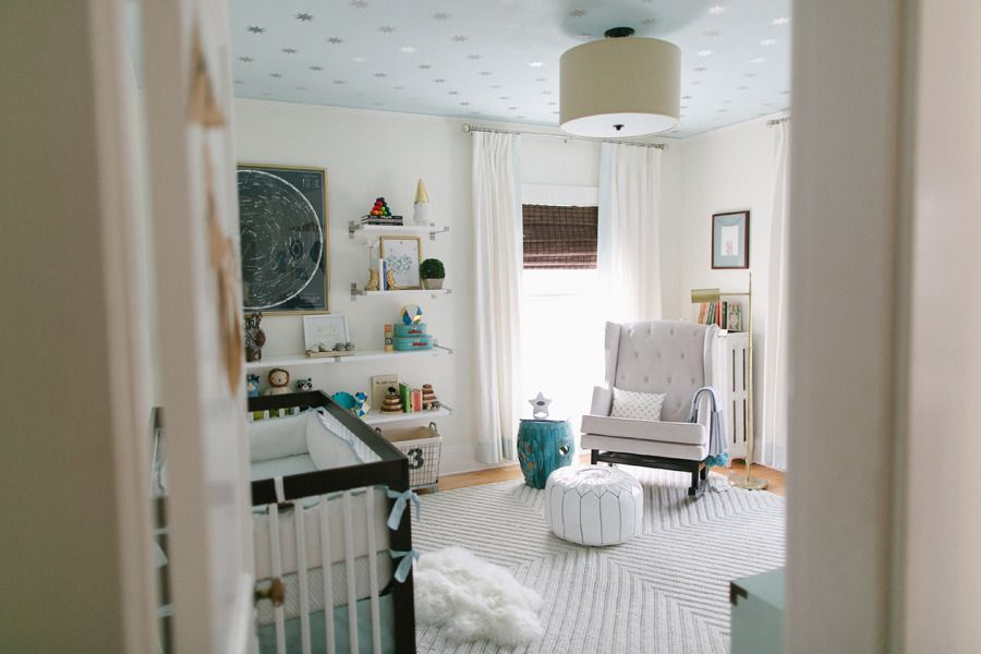 Baby Reeds Nursery from Ruth Eileen Read more - http://www.stylemepretty.com/living/2013/05/20/baby-reeds-nursery-from-ruth-eileen/