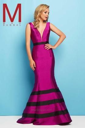 MAC DUGGAL EVENING GOWNS: Mac Duggal - 65577 L Magenta Buy Now $338.0 Find at Faearch
