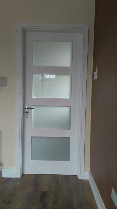 4 Panel Opaque Glass Door Set Available At Www Murphylarkin Com