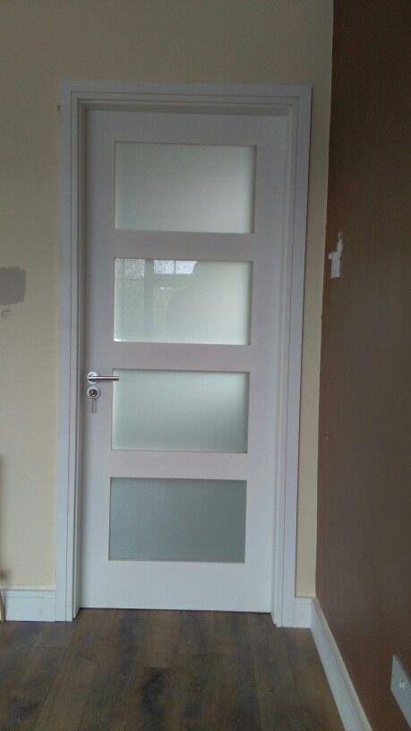 4 Panel Opaque Glass Door Set Available At Www Murphylarkin Com Internal Glass Doors Door Glass Design Internal Doors Modern