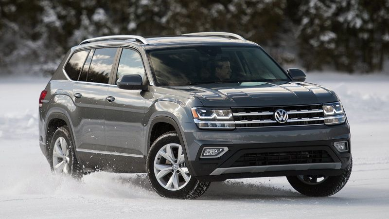 Late to the party, come prepared 2018 Volkswagen Atlas