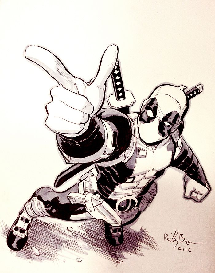 Deadpool by ReillyBrown on DeviantArt | Dibujos | Pinterest ...