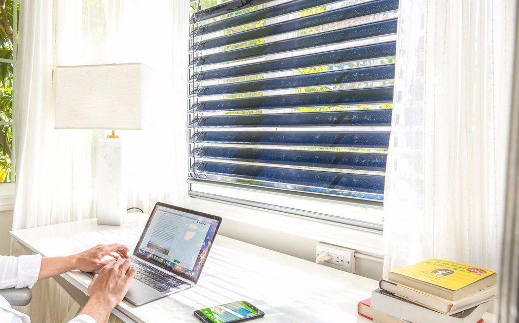 Solar gaps First ever smart solar blind solarenergy