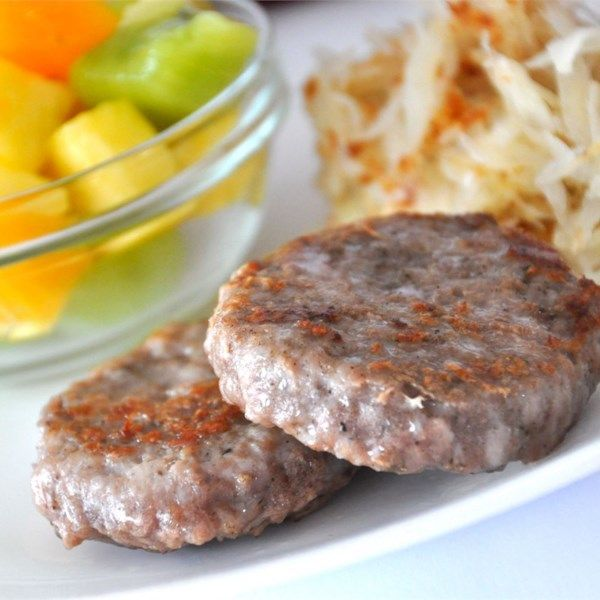 "Breakfast Sausage | ""Makes a delicious, homemade breakfast sausage using ground pork and an assortment of spices."""