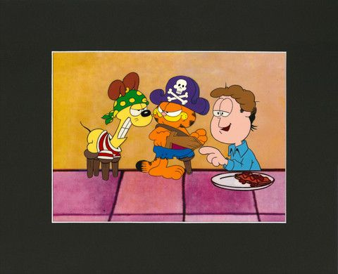 Garfield S Halloween Adventure Animation Cel Halloween Adventure Garfield Halloween Animation