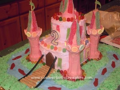 Coolest Princess Castle Birthday Cake Castle birthday cakes