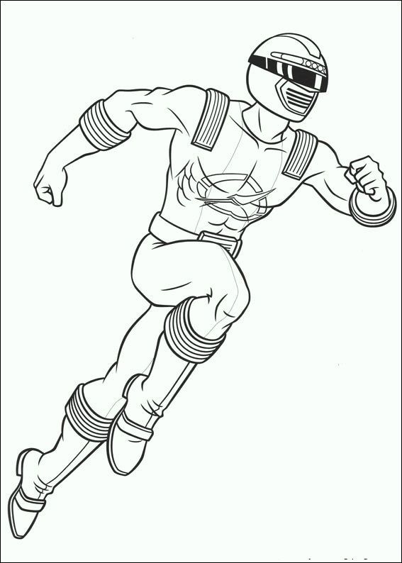 Power Rangers Green Ranger Coloring Pages Amazing Design