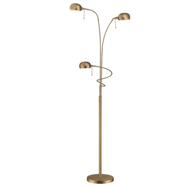 3 Light Floor Lamp Simple Lite Source Denzel 3Light Floor Lamp  Home Furniture & Decor Inspiration