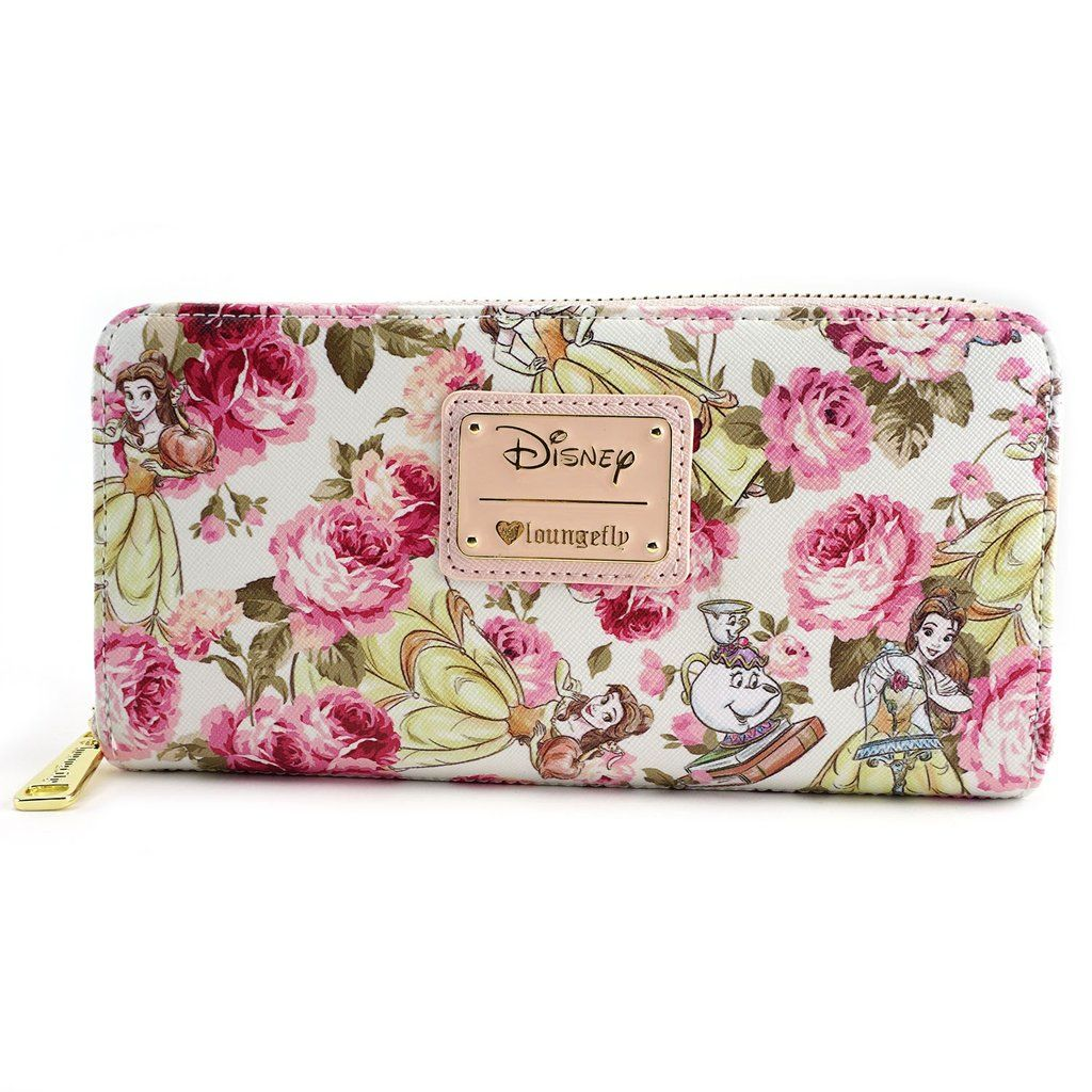 Loungefly Disney Beauty & the Beast Belle Pink Peony