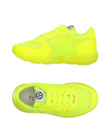 FLORENS Girl's' Low-tops & sneakers Yellow 8C US
