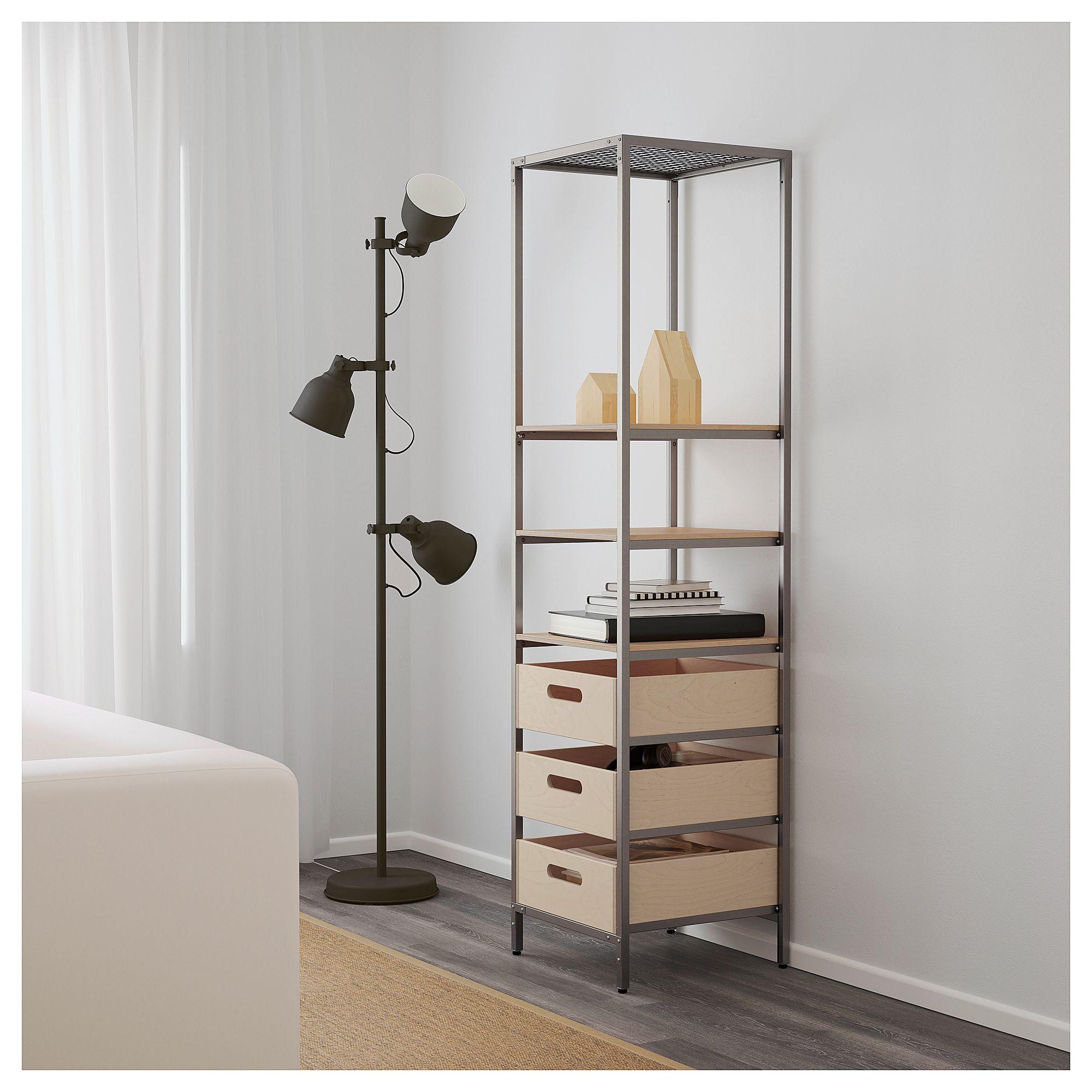 Ikea  Veber D Shelf Unit Natural