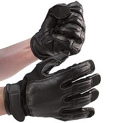 Steel Shot Leather Gloves For when it counts defensive