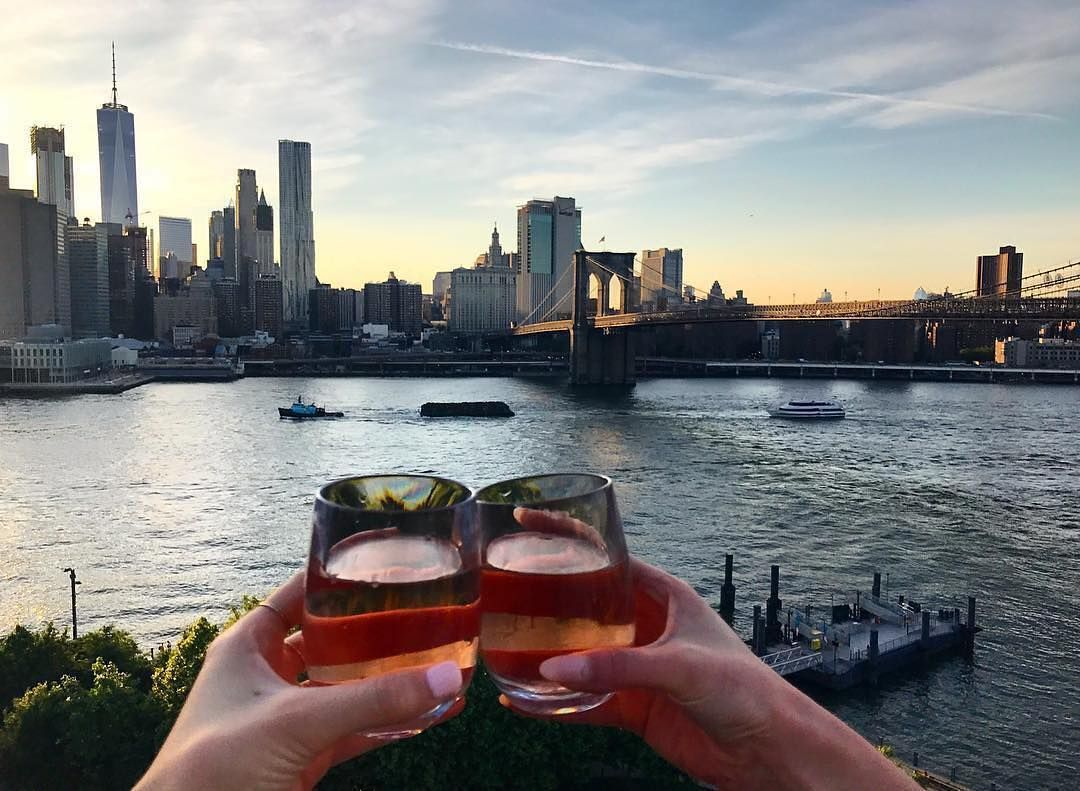 Raise A Glass To Endless Summer Nights At The 1 Rooftop At 1 Hotel Brooklyn Bridge Brooklyn Bridge Brooklyn Hotel
