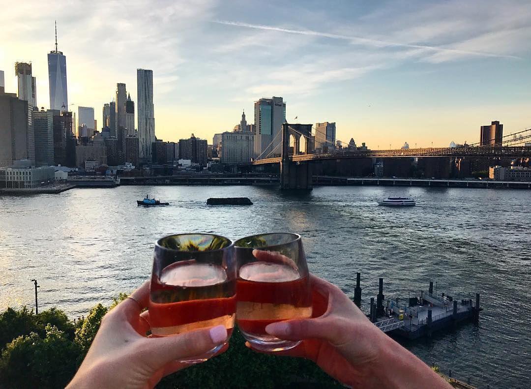 Raise A Glass To Endless Summer Nights At The 1 Rooftop At 1 Hotel Brooklyn Bridge Brooklyn Bridge Brooklyn Hotel