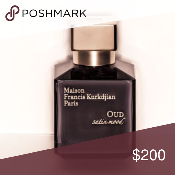 NEW Maison Francis Kurkdjian OUD Satin Mood Oud Satin Mood is warm blend of natural oud from Laos, Patchouli, Bulgarian Rose and herbal Moroccan Blue Chamomile. Sweet accords of Violet and Vanilla lift this musky fragrance, giving it a dynamic, long-lasting finish that won't fade.  NEW, no box Maison Francis Kurkdjian Makeup