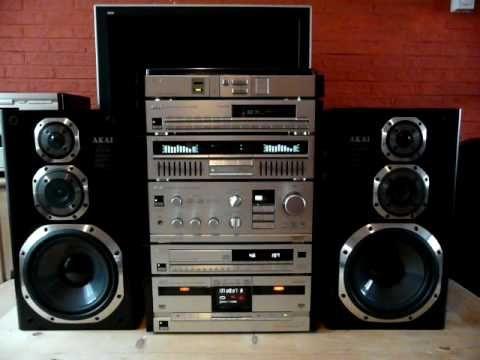 Akai Hifi Audio Stereo Top Line Series Clarity Gx Components 930 1988 Hifi Audio Hifi Hifi Stereo