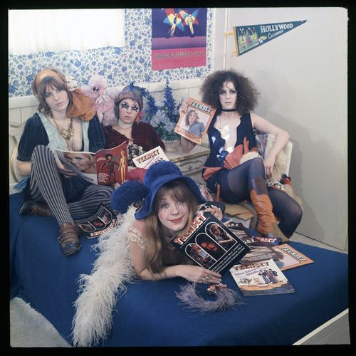 Pamela Des Barres and the GTO's (Girls Together Outrageously)