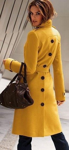 ee3b67d54 Yellow Coat - Victoria's Secret in 2019 | JACKETs | Yellow coat ...