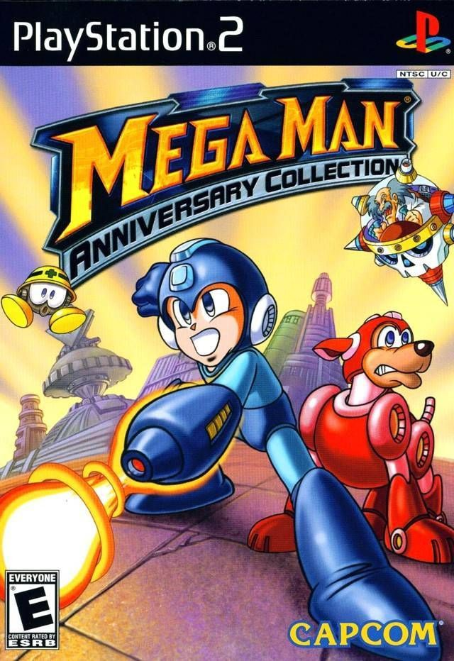 Mega Man Anniversary Collection Sony Playstation 2 2004 Complete