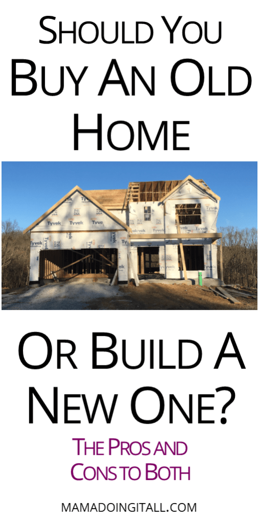 When you\u0027re thinking about moving you might have the option: buy old or build new? Learn the pros and cons to both options. #buyingahouse #buildingahouse # ...