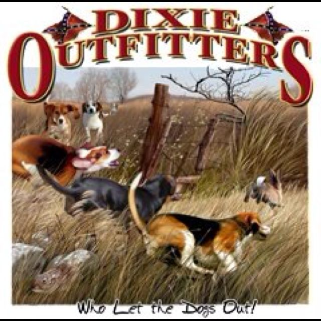 Dixie Outfitters Rabbit Hunting Beagle Dogs