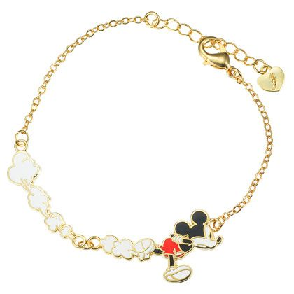 03054d8a2923a Mickey Mouse Bracelet | Disney Jewelry | Mickey mouse jewelry ...