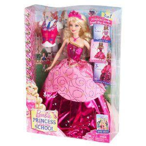 Barbie princess charm school doll