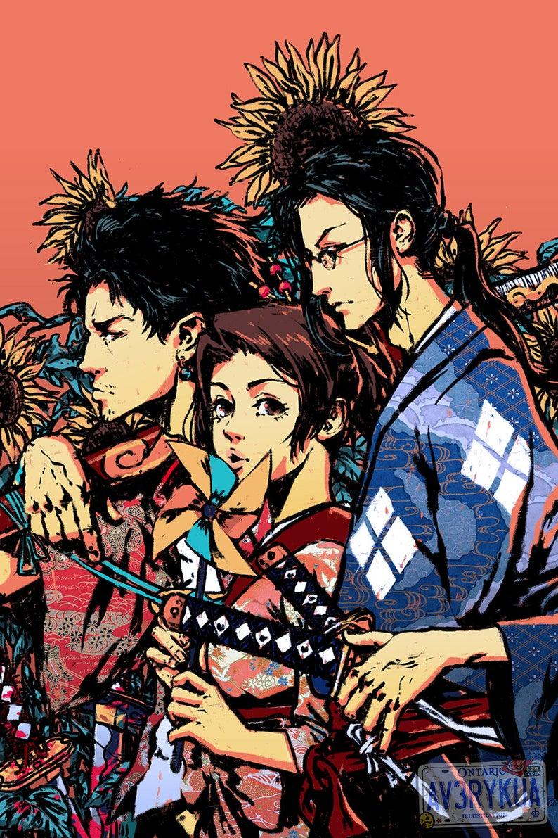 samurai champloo poster 12 x 18