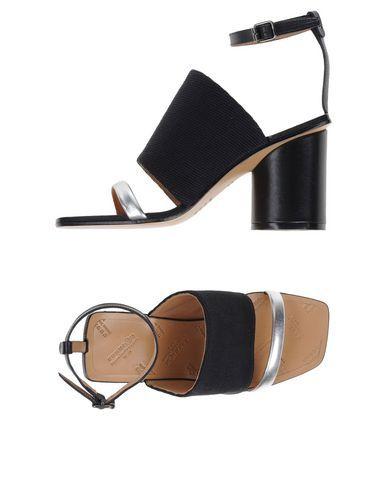 maison margiela summer 2015 cylinder heel sandal | Leather