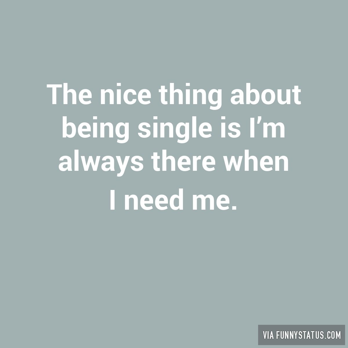 Being single status for facebook