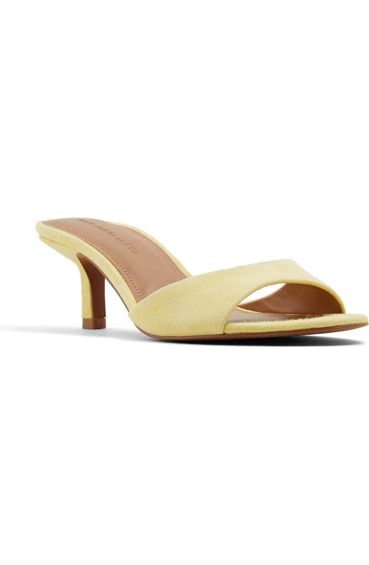 Who What Wear Paige Kitten Heel Sandal Women Nordstrom In 2020 Kitten Heel Sandals Womens Sandals Kitten Heels